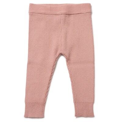 Baby Leggings - Velvet Pink
