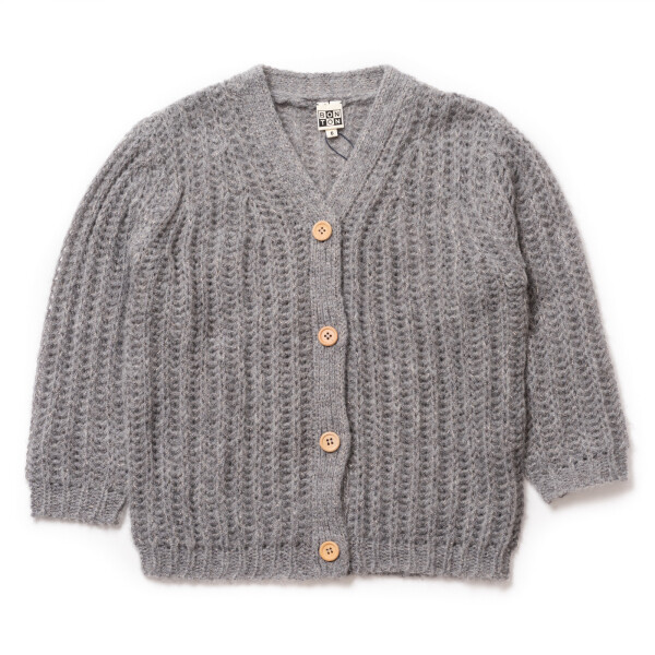 Large Cardigan - China Grey