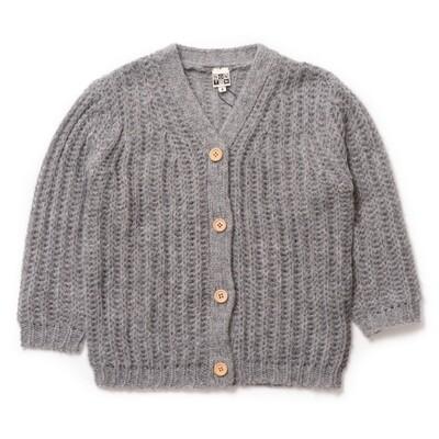 Large Cardigan - China Grey