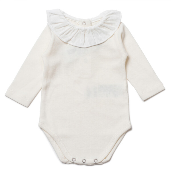 Collerette Baby bodysuit - Milkyway