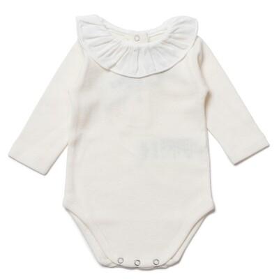 Collerette Baby bodysuit - Milkyway
