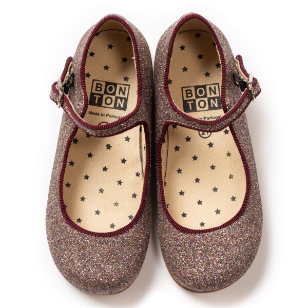 Bonton Glitter Shoes
