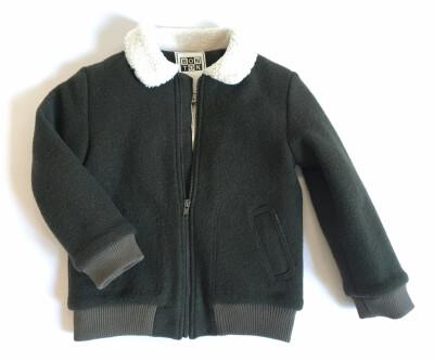 Wool Jacket - Lochness Green