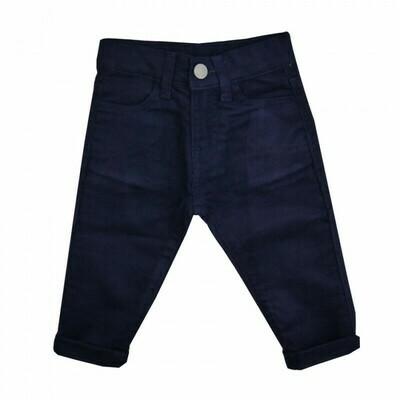 Navy Moleskin Pants