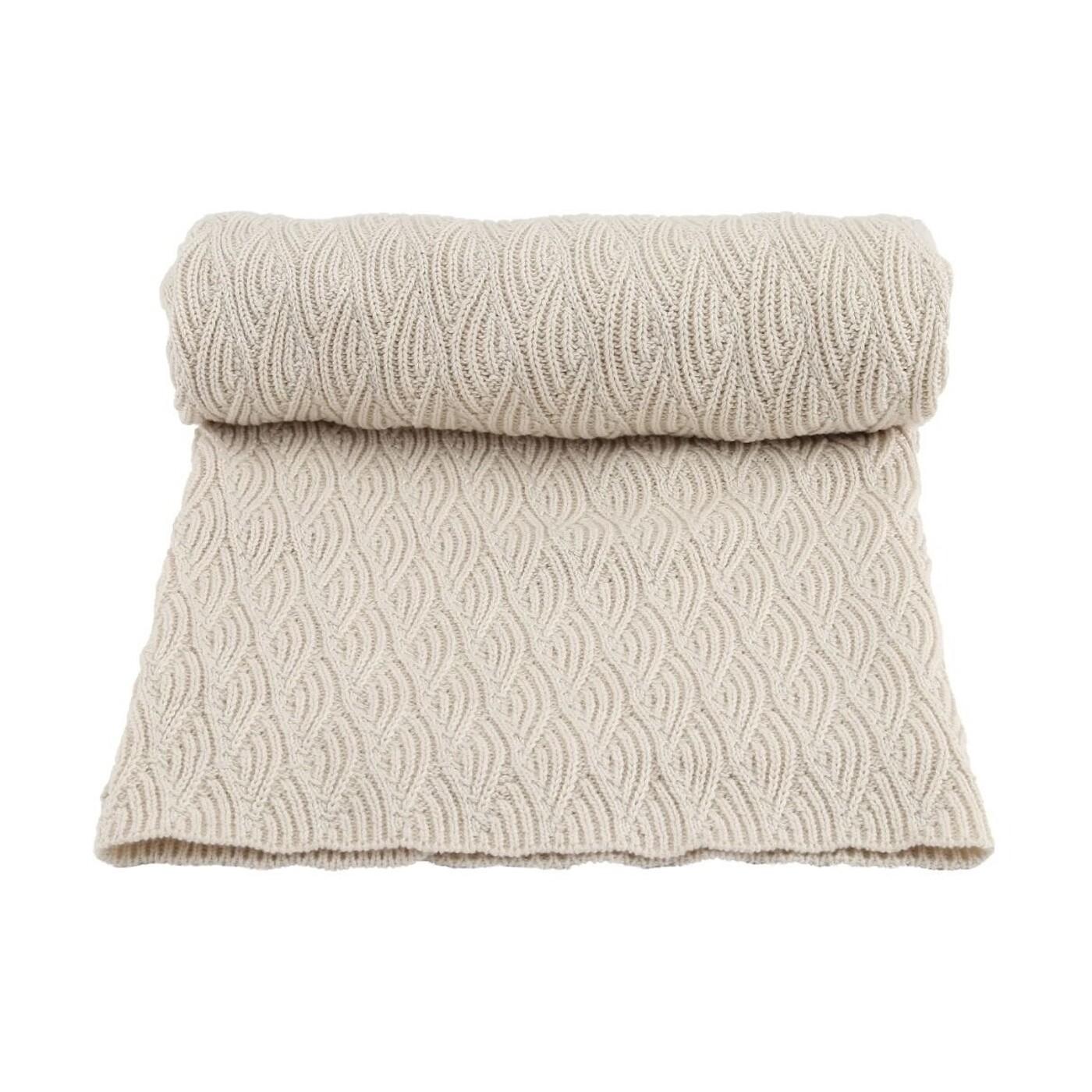 Blanket, Pointelle - Off-White