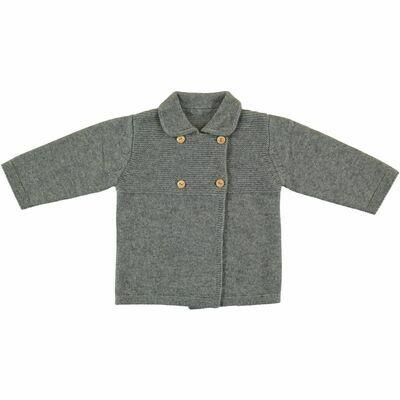 Violette Coat - Grey Mix