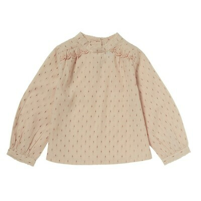 Lou Anne Blouse - Old Pink