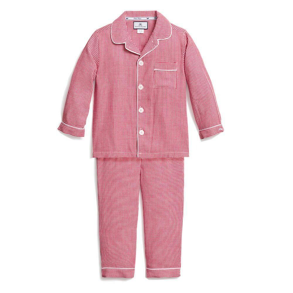 Red Mini Gingham Pajamas