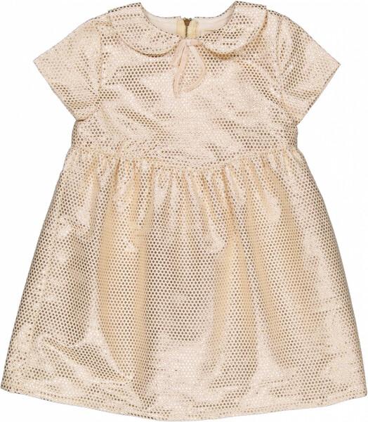 Serena Dress, Brocard Lurex, Off-White