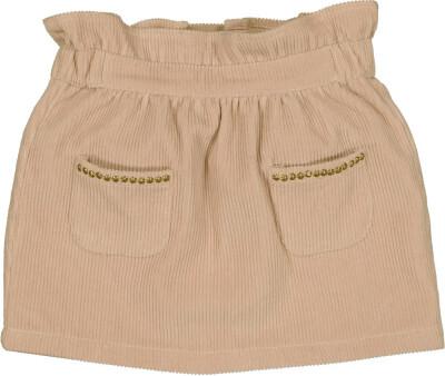 Robby Skirt, Pink Corduroy