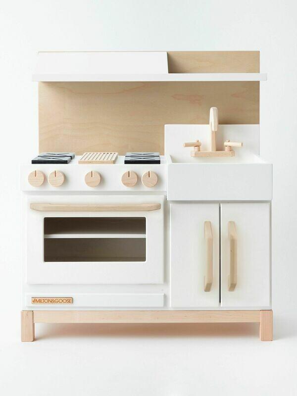 Essential Play Kitchen Hood - White