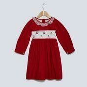 Winterberry Dress - Red Cord