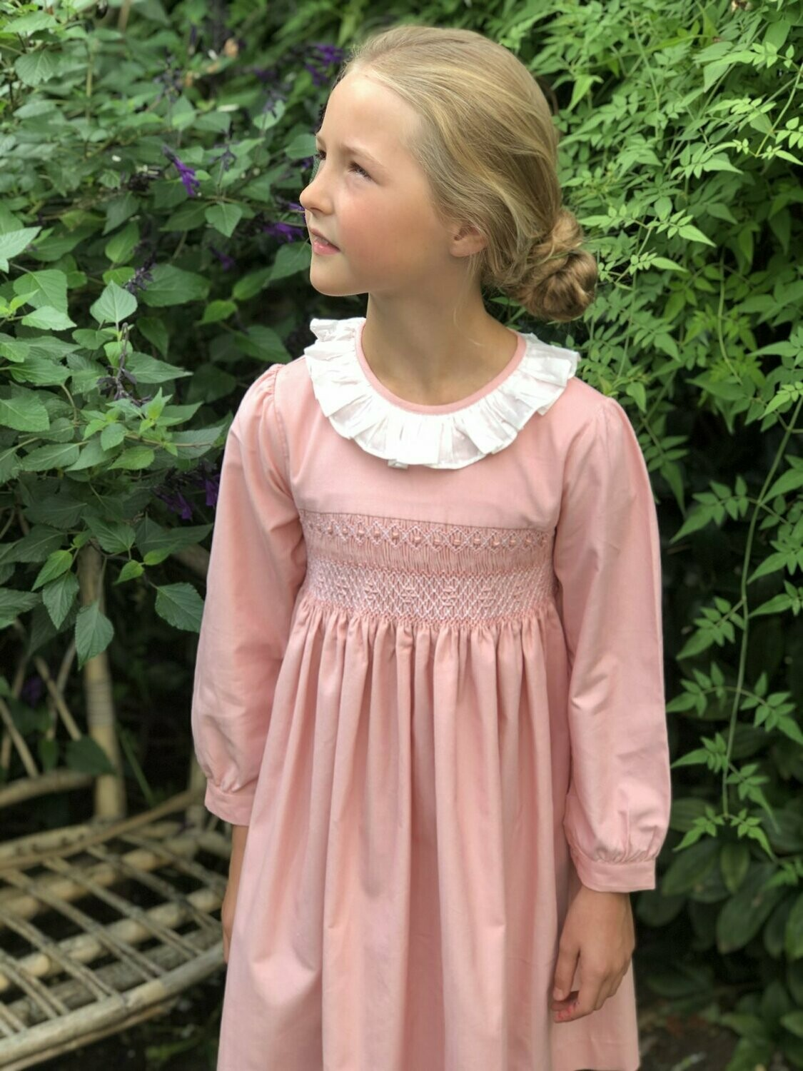 Clementine Sunset Dress - Pale Pink Cord