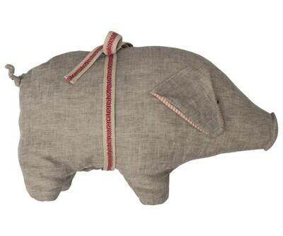 Pig, Grey, Medium