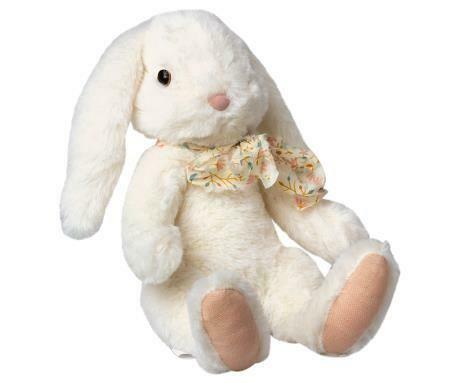 Fluffy Bunny, Large - White
