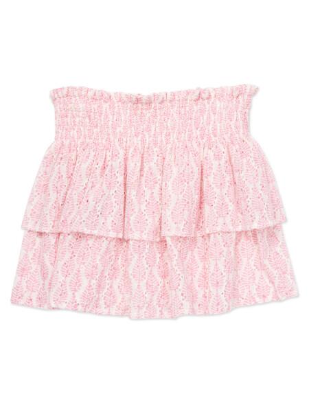 Pink Feuille Skirt