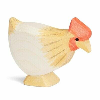 Hen, Ochre, Standing