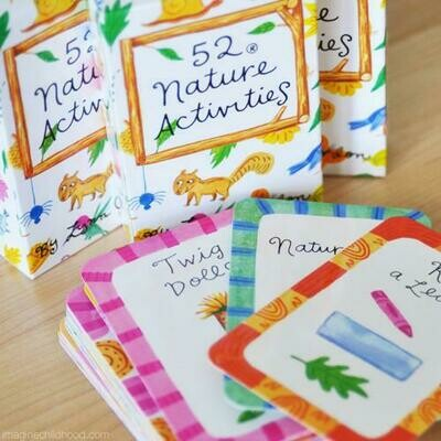 52 Activities In Nature Cards