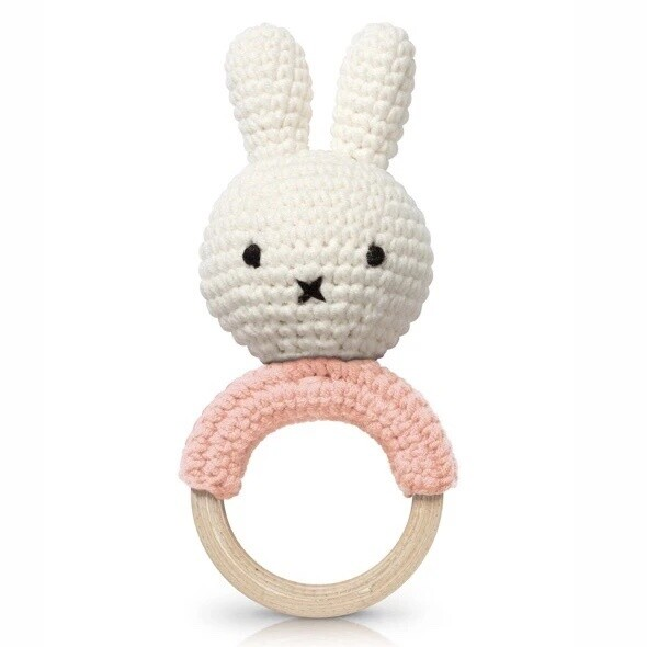 Miffy, Teether Pastel Pink