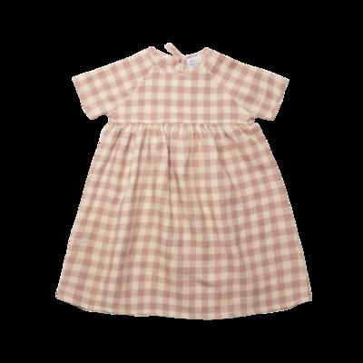 Hopscotch Dress, Rose Check
