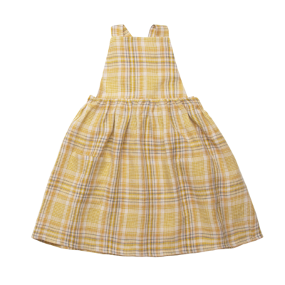 Conkers Pinafore, Hay Plaid