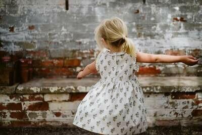 Celeste Dress, Poppy Floral