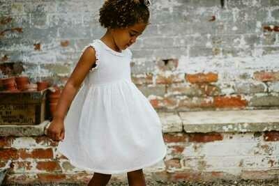 Celeste Dress, Off-White