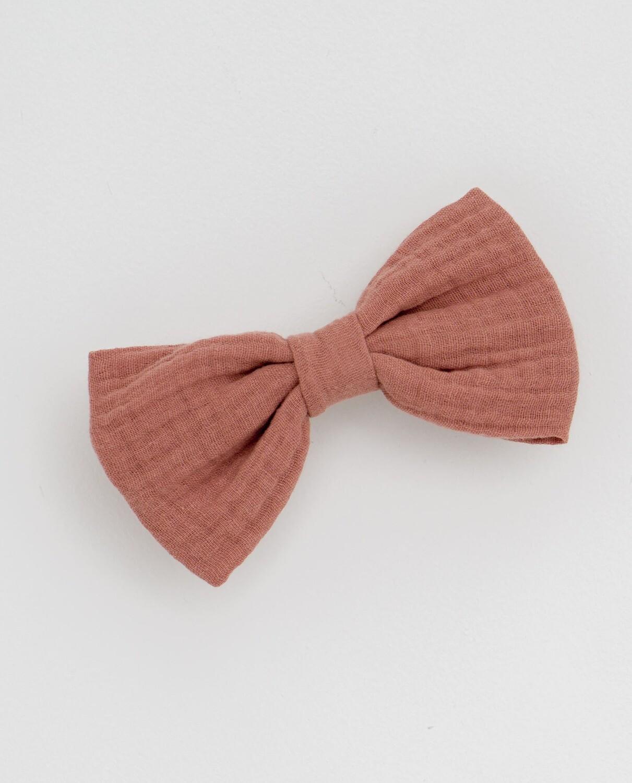 Large Hair Bow, Rose