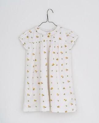 Hera Dress, Clover Floral Seersucker