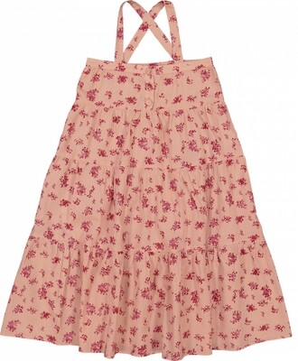 Carnette Dress, Dark Pink