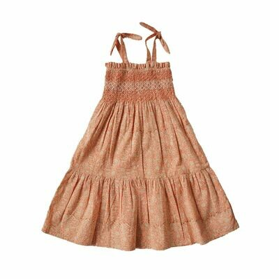 Loraine Dress, Terracota