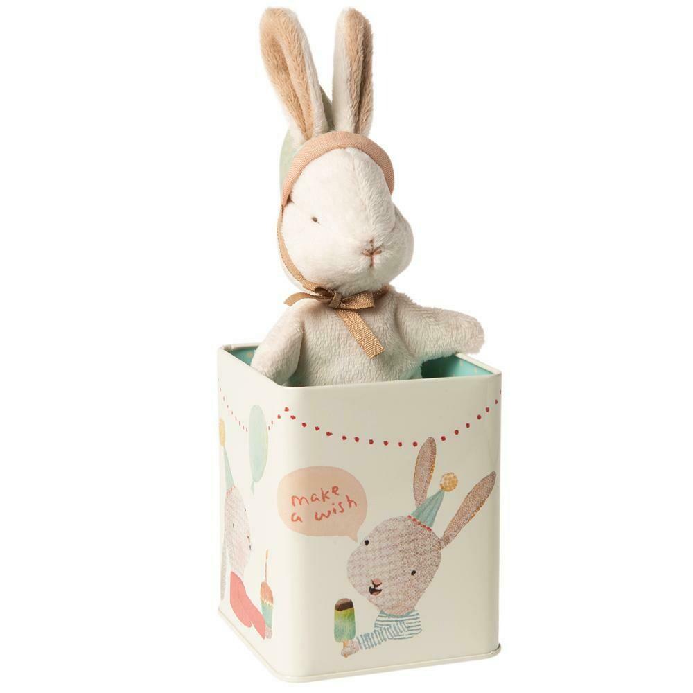 Happy Day Bunny In Box