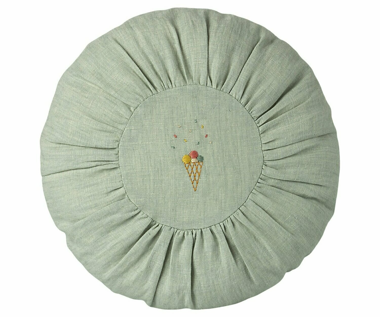 Round Cushion, Mint