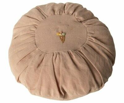 Round Cushion, Rose