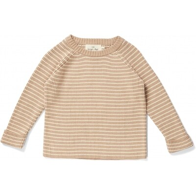 Meo Knit Sweater, Moonlight/Off-White