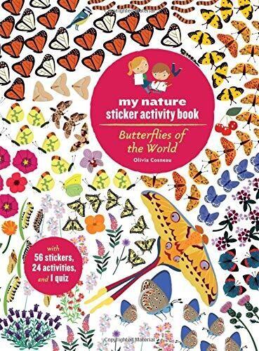 Butterflies of the World: My Nature Sticker Book