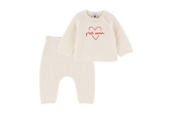 Baby Girl 2pc Coeur Sweater Set