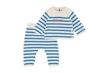 Baby Boy 2pc Striped Sweater Set