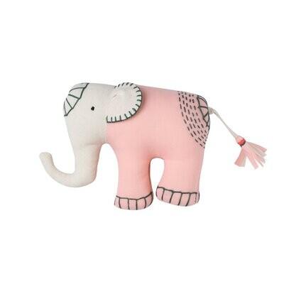 Hand Stitched Elephant Toy