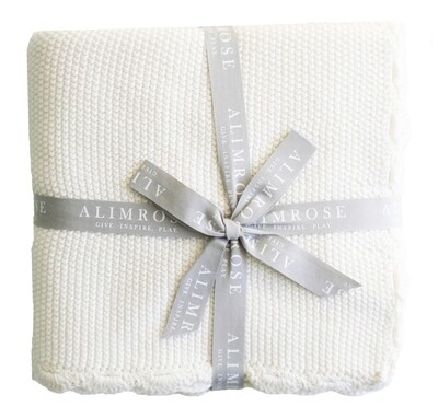 Organic Baby Blanket- Ivory