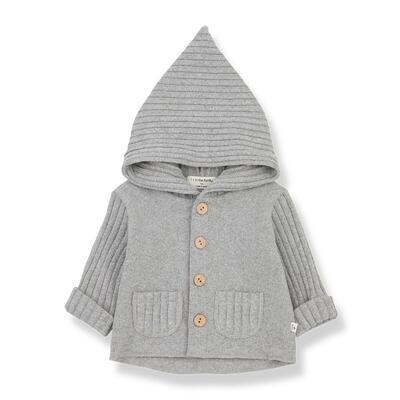 Elliot Hooded Jacket, Grey