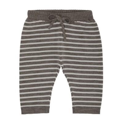 Baby Loose Pants, Beige Melange