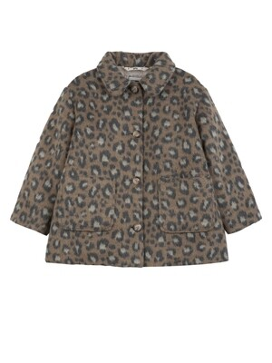 Leopard Jacket, Camel
