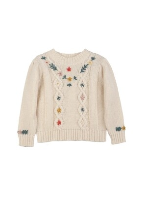 Girl's Pullover, Orgeat