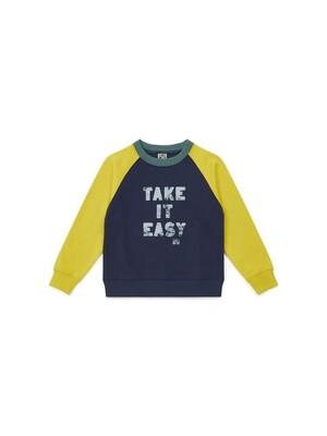 Boy's Sweatshirt, Lemongrass