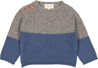 Bobino Baby Pull, Deep Blue / Grey