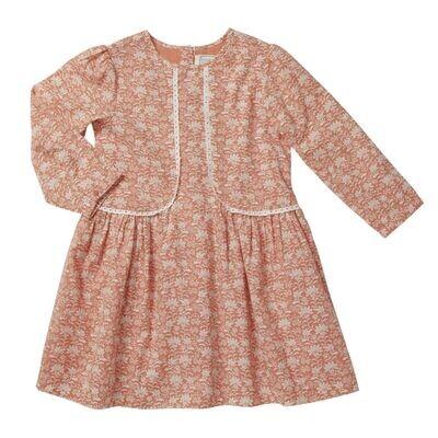 Eglantine Dress, Rose Peach