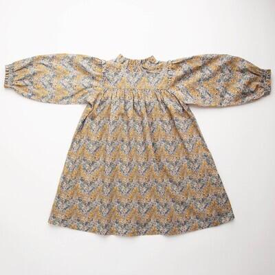 Marble Dress, Aubry Forest Liberty Print