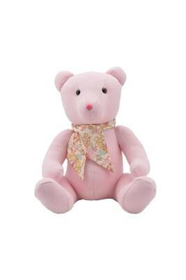 Bear- Pink Chevron with Liberty of London Sc