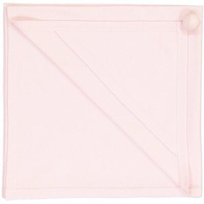 Clementine Blanket, Powder Pink
